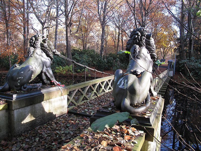Löwenbrücke - Grossen Tiergarten - Berlin