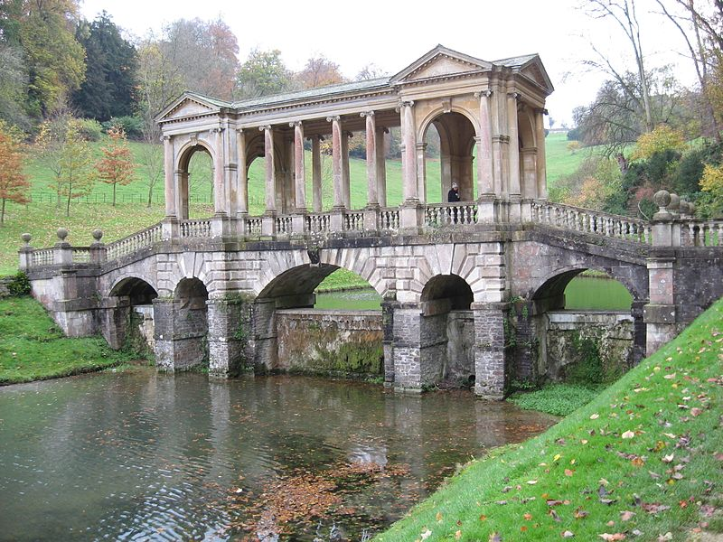 Palladian Bridge - Prior Park - England
