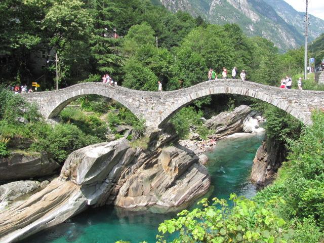 Ponte dei Salti - Kanton Tessin - Schweiz