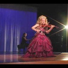 Kindertalente Violine