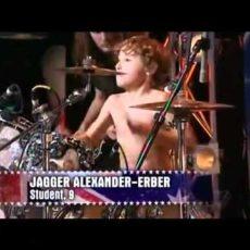 Kindertalente Schlagzeug